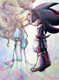 Shadow and Maria. Such pretty colors