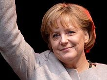 Angela Dorothea Merkel (born 17 July 1954) is a German politician and former research scientist who has been the Chancellor of Germany since 2005, and the leader of the Christian Democratic Union (CDU) since 2000. She is the first woman to hold either office.