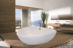 Freistehende Badewanne Für Eine Luxuriöse Badezimmereinrichtung