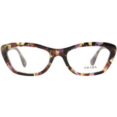 2081d46d79 Prada PR 03QV PDN1O1 Black Optical, Buy Online at Gaffos.com (€135) ❤ liked  on Polyvore featuring accessories, eyewear, eyeglasses, black eye glasses,  ...