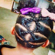 Hair Styles For Kids Braids for Kids - Braid Styles for Girls Lil Girl Hairstyles, Natural Hairstyles For Kids, Kids Braided Hairstyles, Princess Hairstyles, Trendy Hairstyles, Black Hairstyles, Short Haircuts, Teenage Hairstyles, Toddler Hairstyles