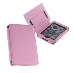 TeckNet@ Kindle Paperwhite / kindle Touch Leather Cover With 2 Kindle Screen Protectors & Magnetic flap closure for Amazon Kindle Paperwhite & Kindle Touch Both - Pink by Tecknet. $9.99. Elegant handmade case  Made of High-quality Synthetic Leather (i.e. PU Leather)   Designed to fit the NEW Amazon Kindle Paperwhite & Kindle Touch Both  Durable, folio-style exterior cover with lined with soft microsuede interior  Compartments inside to hold cards  Only compatible with new...