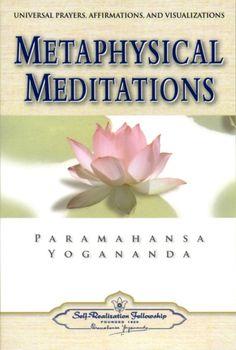Yogananda Metaphysical Meditations #Yogananda #meditations