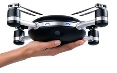 a throw & go drone coming early next year. looks pretty cool...   I think Lily will to drones what GoPro is to cameras.