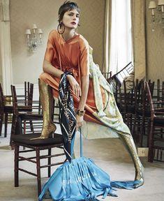 Publication: Interview Magazine March 2018 Model: Stella Tennant Photographer: Craig McDean Fashion Editor: Karl Templer Hair: Duffy Make Up: Diane Kendal