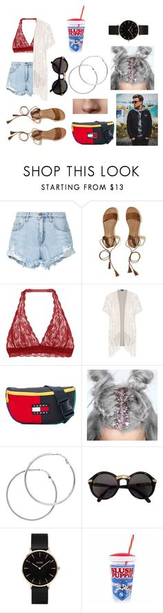 """V Festival with Jack Maynard"" by harrysyleslove101 ❤ liked on Polyvore featuring Nobody Denim, Hollister Co., Cosabella, City Chic, Tommy Hilfiger, Melissa Odabash, Cartier, CLUSE and plus size clothing"