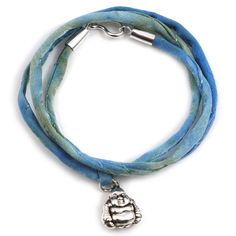 Silver luck wisdom buddha armband/ketting from Applepiepieces #applepiepieces #bluemonday