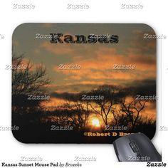 Kansas Sunset Mouse Pad