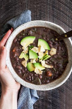 Spicy Black Bean Kal