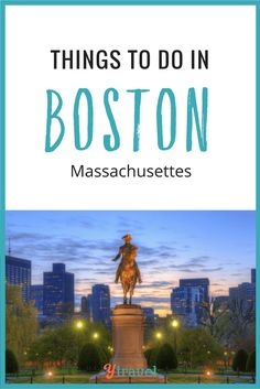 What To Do in Boston