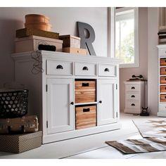 SMUK Halifax Skænk med Teaktræs Kurve - Halifax #halifax #interior #interiordesign #interiør #interiørdesign #interiørbutikkendk #indretning #bolig #boligindretning #skænk Decor, Storage, Teak, Cabinet, Furniture, Home Decor