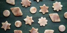 These cookies are delicate and crumbly with a light dusting of spicy, sweet cinnamon sugar.