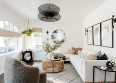 All Your Living Room Styling Questions Answered (Plus Some Furniture & Decor Reviews) - Emily Henderson Colorful Furniture, Furniture Decor, Living Room Furniture, Living Room Decor, Living Spaces, Living Area, Em Henderson, Beautiful Living Rooms, Decorating Small Spaces