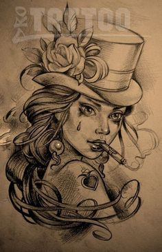 Awesome portrait tattoo ideas