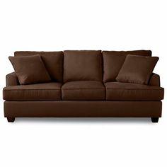 "Danbury 84"" Microfiber Sofa - jcpenney"