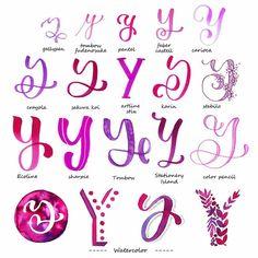 Variationen Buchstabe A - Handlettering Hand Lettering Alphabet, Hand Lettering Quotes, Doodle Lettering, Creative Lettering, Lettering Styles, Calligraphy Letters, Brush Lettering, Lettering Design, Caligraphy