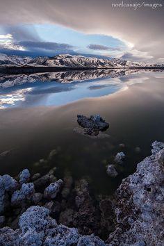 """ MYSTIC REFLECTION "" Mono Lake, California - by noel casaje"