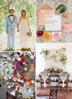 The New Vintage - 70's Revival // Top 10 Wedding Trends for 2017 // www.onefabday.com