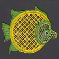 FSL Animal Mug Rug 6 - 5x5   What's New   Machine Embroidery Designs   SWAKembroidery.com Ace Points Embroidery