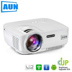 Cheap aun projector, Buy Quality led projector directly from China mini projector Suppliers: AUN Projector 1400 Lumens LED Projector Set in Android WIFI Bluetooth Support Miracast Airplay KODI MINI Beamer Led Projector, Movie Projector, Bluetooth, Tv Led, Android Wifi, Cable, Tv Tuner, Shopping, Cabo