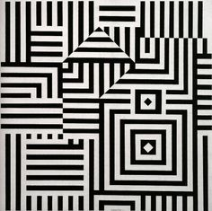 Original Creators: The Father Of Op-Art Victor Vasarely | The Creators Project