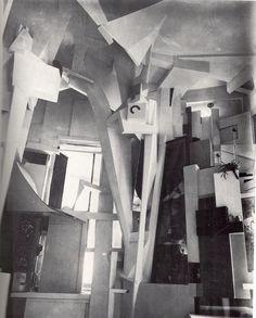 Kurt Schwitters - Hannover Merzbau (1930)