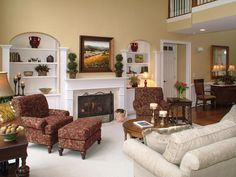Tuscan Living-areas from Ann Wisniewski on HGTV