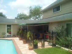 18' Motorized Sunsetter Retractable Awning from DunRite Playgrounds http://www.dunriteplaygrounds.com