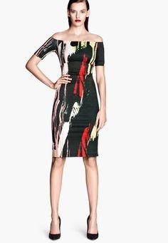 611cd03a7d H&M shoulder less dress A/S14 Mindennapi Divat, Modellek, Nyári Ruha, ...