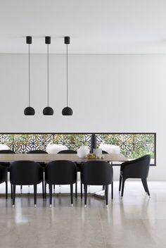 Megan Morton design - love the light fittings