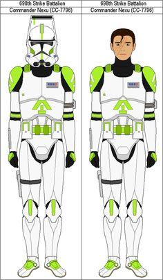 Commander Nexu CC-7796 by MarcusStarkiller on DeviantArt