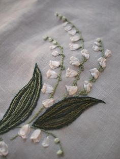 ♒ Enchanting Embroidery ♒ lily of the valley