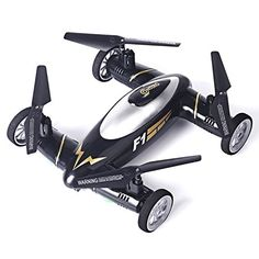 BOXING DAY- Contixo Kids Drone F1 Black RC Quadcopter Flying Car, Bonus Battery, Easy Stunts, 4 Channel Drone, RC 2.4GHz, 6 Axis Gyro RC Quadcopter -- Continue to the product at the image link.