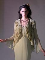 Marian Clayden: Ventana Jacket-Narrow Bias Dress