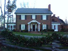 Billy Graham childhood home, Charlotte, NC.