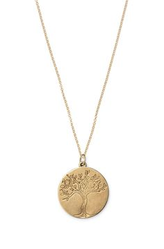 Charm-Kette Tree of Life  Tree of Life Charm-Halskette in Bronze oder Silber   Stella & Dot