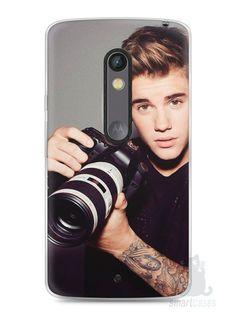 Capa Capinha Moto X Play Justin Bieber #6 - SmartCases - Acessórios para celulares e tablets :)