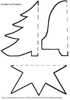Knutselideeen voor kinderen, rondom het thema kerst. Knutselen voor kerst en nog meer thema's vind je op deze site