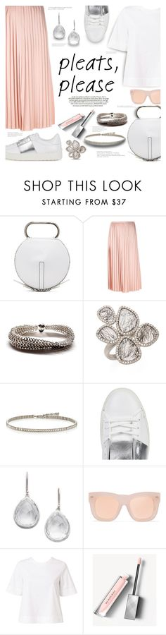 """Pleats, Please!"" by margaretferreira ❤ liked on Polyvore featuring 3.1 Phillip Lim, Fendi, Meira T, Ippolita, Acne Studios, A.L.C., Burberry, Valentino, summertrend and pleats"