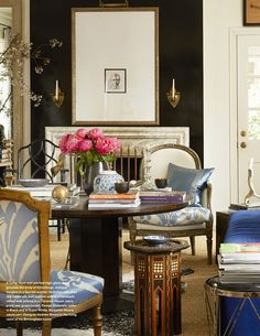 The Pink Pagoda: Blue and White with Elissa Cullman, Victoria Hagan, Andrew Brown, J + G Design, Rollins Ingram and Ralph Lauren