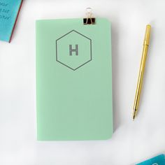 YAY! New #maydesigns monograms are here! Shop this style: http://www.maydesigns.com/shop/books/create/solid-classics-mint/
