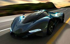 UK Designer Mark Hostler envisions this incredible LaMaserati concept car…