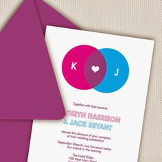 """If you're preparing to say """"I do"""" to a fellow nerd, why not play up your geeky status with some playful wedding invitations? Geek Wedding, Plan My Wedding, Our Wedding, Wedding Stuff, Autumn Wedding, Wedding Cards, Wedding Invitation Samples, Simple Wedding Invitations, Invitation Design"""