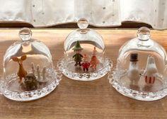 100均素材2つで出来る♩アレンジ自在の『ガラスドーム』の作り方♡のトップ画像
