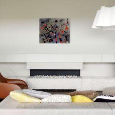 MIRÒ - The escape ladder 80x65 cm #artprints #interior #design #art #print #iloveart #followart #artist #fineart #artwit  Scopri Descrizione e Prezzo http://www.artopweb.com/autori/joan-miro/EC21705