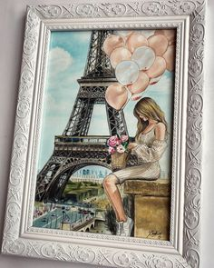 Frame, Home Decor, Eiffel Towers, Homemade Home Decor, A Frame, Frames, Hoop, Decoration Home, Interior Decorating
