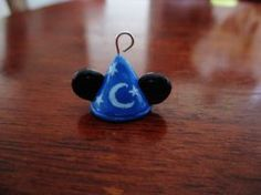 Mickey Wizard Hat Charm (Polymer Clay) by emokitten687
