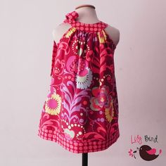 Pink Dress - 12M to 8Y