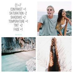 """filters☁ on Instagram: """"#freefilter ❕ close to @mylifeaseva (requested) amazing filter for summer pics. it gives tropical vibes to the photos and goes with literally everything, but i'll use it with greens and blues (summer colours in general). in the photos that aren't very saturated i recommend not to put -2 of saturation, just leave it in 0 or adjust it. makes a perfect feed and it's so cute! tag a friend qotd: fave instagrammer? aotd: @connorfranta follow our backup: @freefiltrs """""""