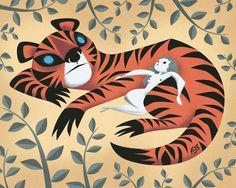 Tiger Lady | Illustrator: Brandon James Scott
